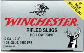 "Winchester X12RS15VP Super X Slugs 12 ga 2.75"" 1 oz Slug Shot 15Box/10Case"